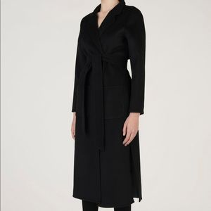 a721a7ad04224 Genuine people slim fit wool cashmere coat